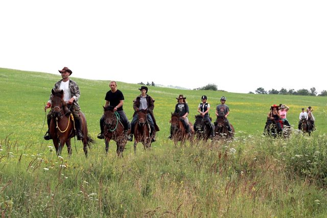 Kurs przodowników jeździeckich